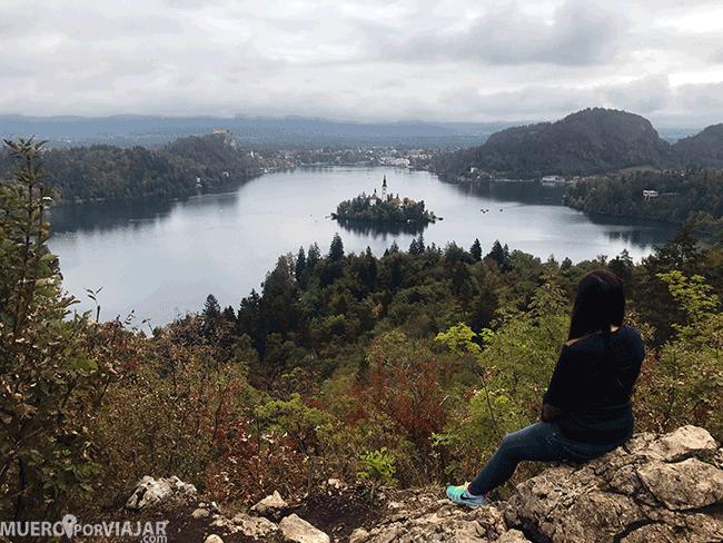 El mirador del lago Bled, uno de los mejores miradores del mundo