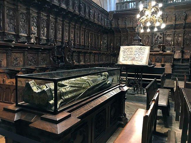 El coro de la catedral de Burgos