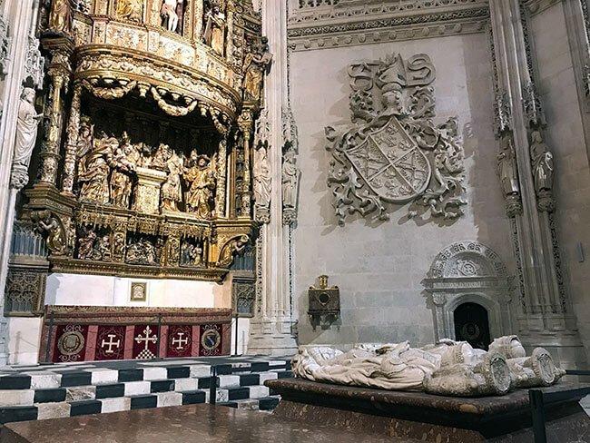 Sepulcro de los Reyes en la catedral de Burgos