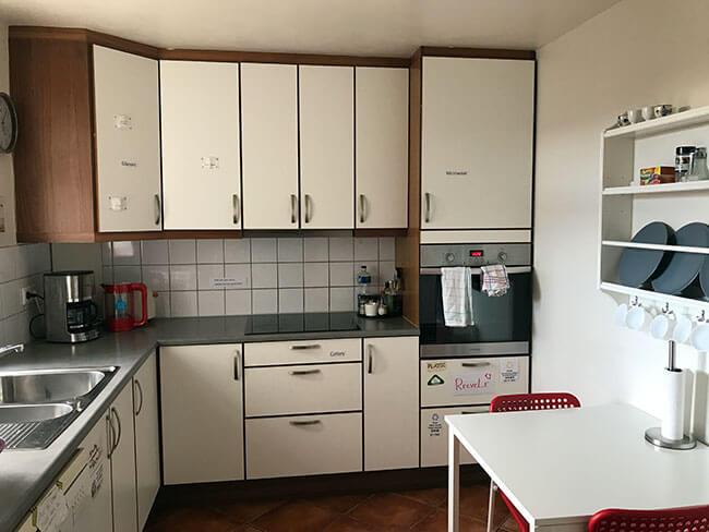 La otra cocina del apartamento de Höfn