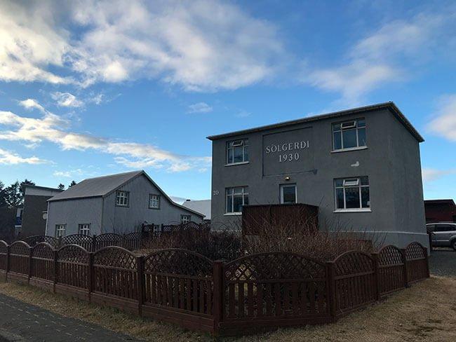 Nuestro alojamiento en Höfn