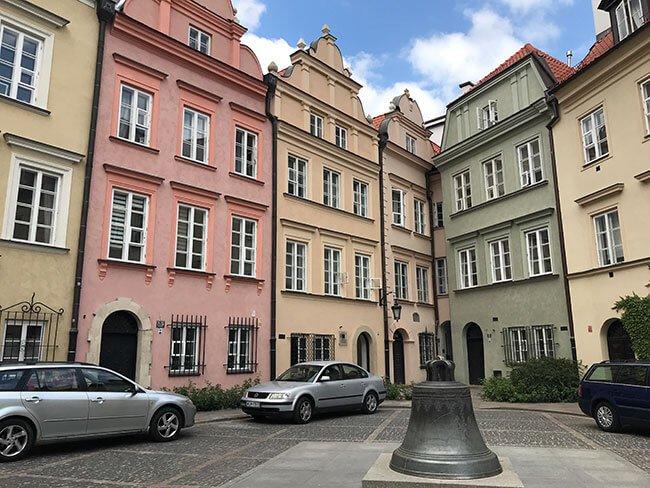 La campana de Kanonia de la que habla la leyenda de Varsovia