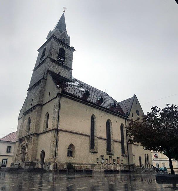 La iglesia de Kranj
