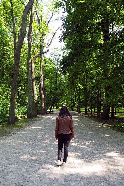 El Parque Real de Łazienki en Varsovia