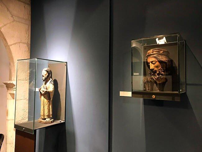 Piezas del museo de Burgos
