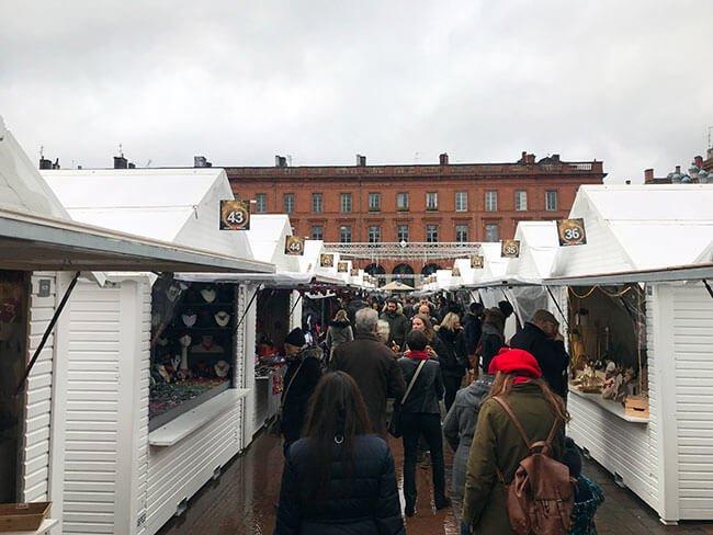 Mercado navideño Toulouse