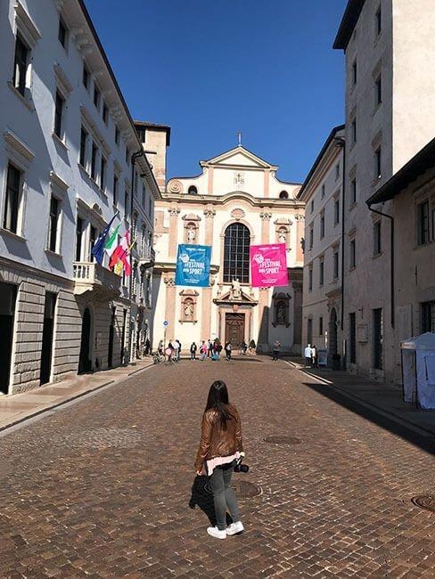 El pueblo de Trento y su amplia historia