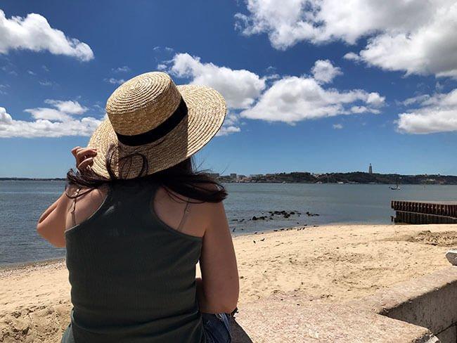 Mirando al rio Tajo
