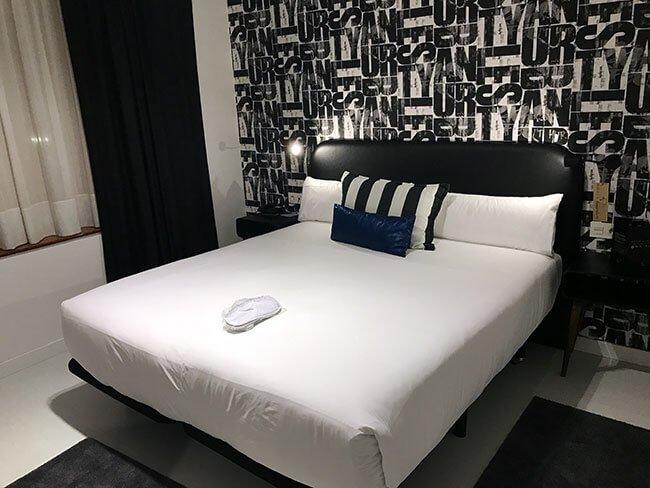 Nuestro habitación en nuestro alojamiento en Bilbao