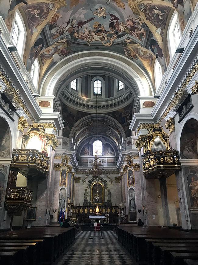 Catedral de San Nicolás - Ljubljana, Eslovenia