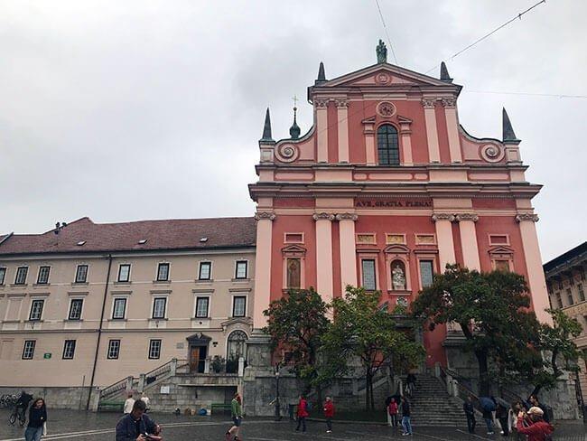 Iglesia de la anunciación - Ljubljana, Eslovenia