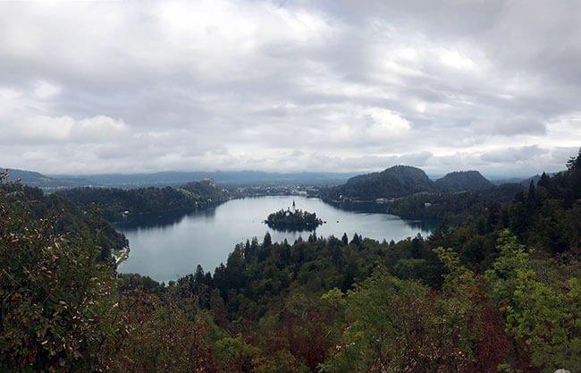 Mirador Ojstrica del lago Bled - Eslovenia