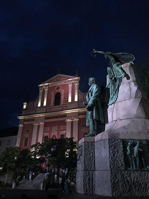 Plaza Preseren - Ljubljana, Eslovenia