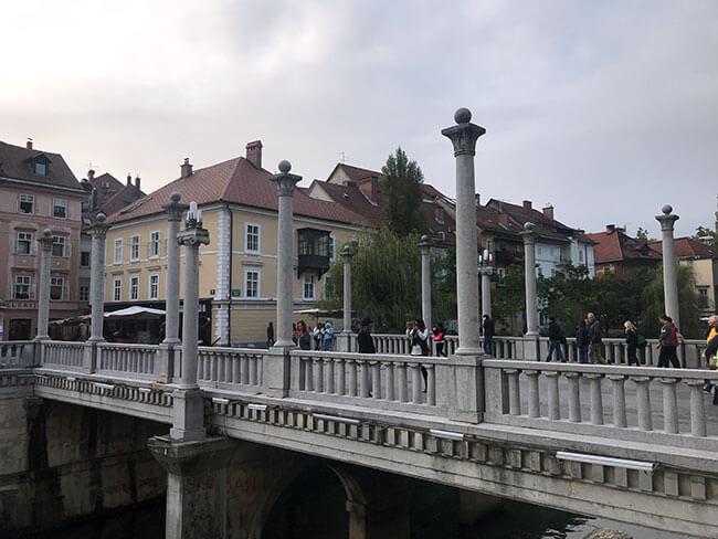 Puente de los Zapateros - Ljubljana, Eslovenia