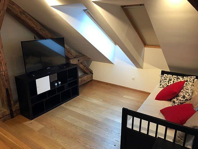 El apartamento es totalmente funcional y cuenta con todas las necesidades cubiertas