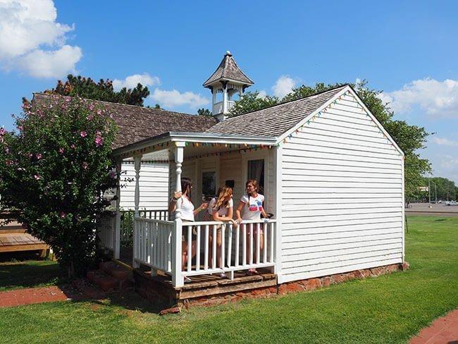 En Old town Museum de Elk City hay una reconstrucción de las casas de época de Oklahoma