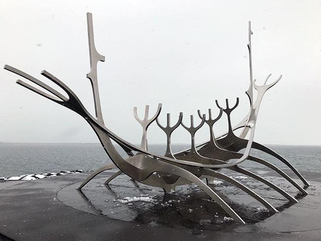 Escultura de Sólfarið