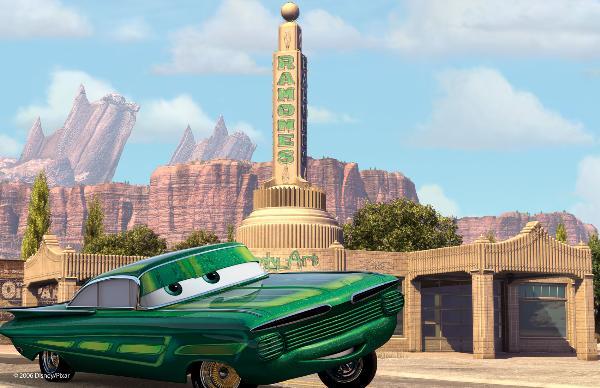 Imagen de la película Cars de Disney-Pixar