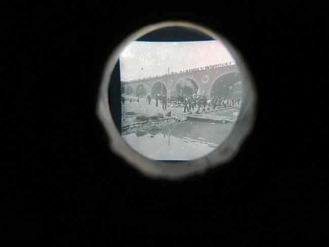 Fotografias del museo Fotoplastikon en Varsovia