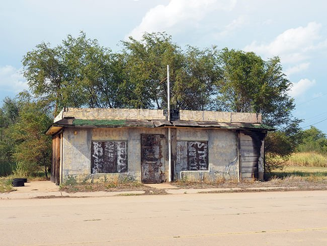 En Texola no encontrarás nada, a parte de casa abandonadas