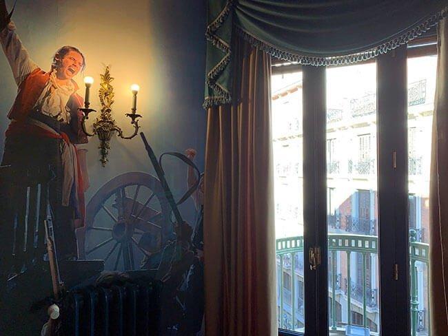 Nuestra habitación tematizada del hotel Casual Madrid del Teatro