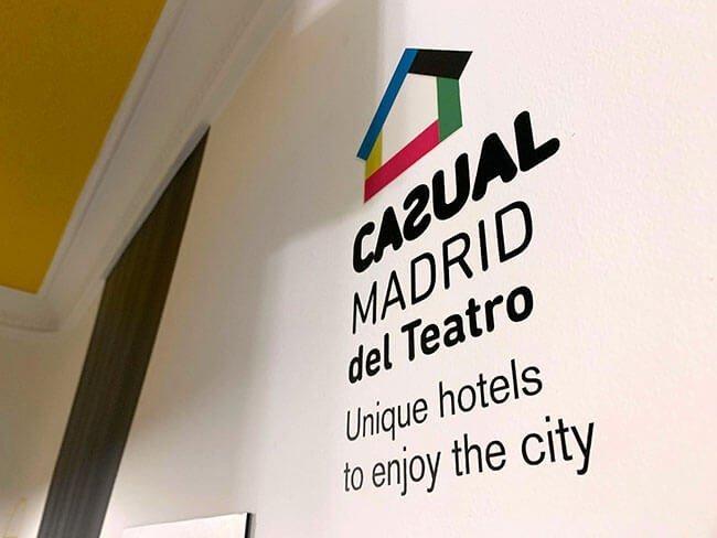 Decoración de nuestro hotel en Madrid