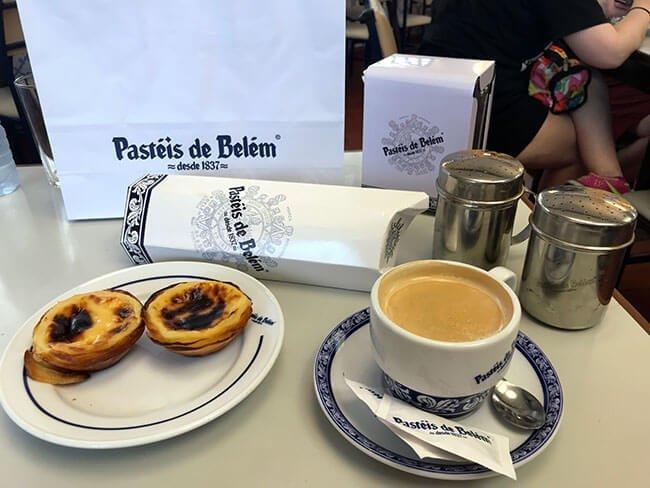 Confitería de pasteis de Belem