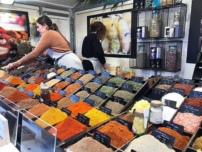 También podemos encontrar especias en el mercado de Toulouse