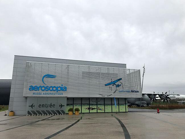 El museo de Aeroscopia en Toulouse