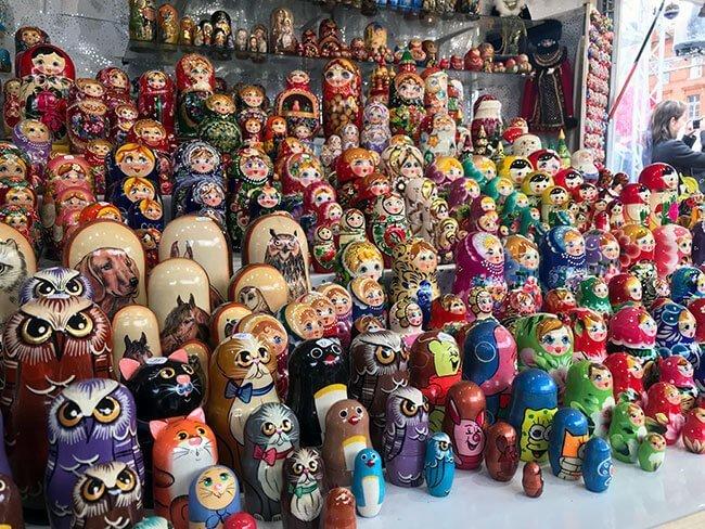 Muñecos del mercado de Toulouse