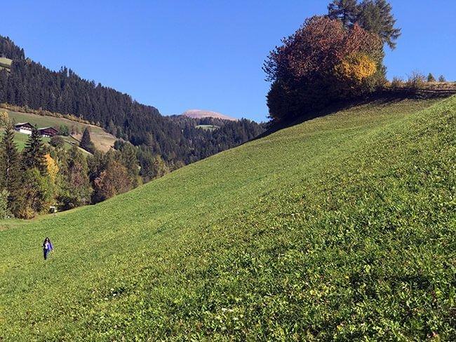 Las verdes praderas del valle de Funes
