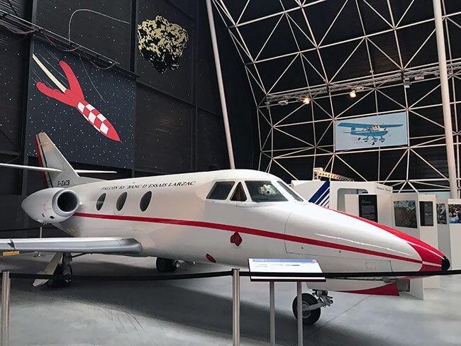 SI eres un amante de la aviación el museo Aeroscopia de Toulouse es una visita obligada