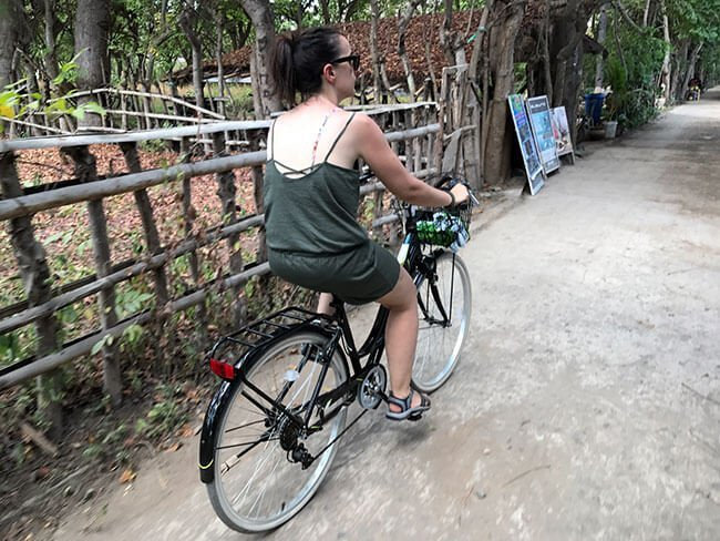 En bicicleta por Gili Air - Indonesia