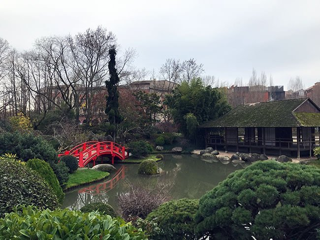Le Jardin Japonais en Toulouse es una representación de los jardines de Kioto