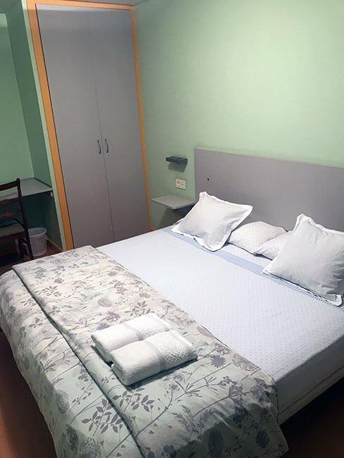 Habitación en mi alojamiento en San Sebastián