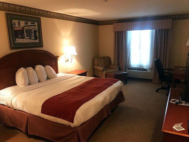 Nuestra habitación en Amarillo
