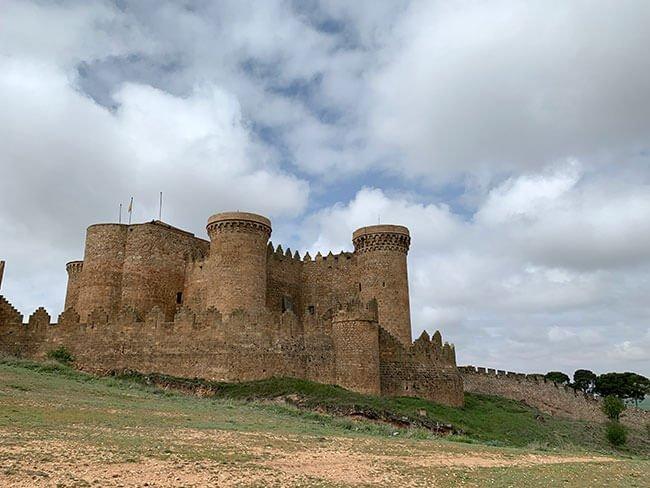 El impresionante Castillo de Belmonte