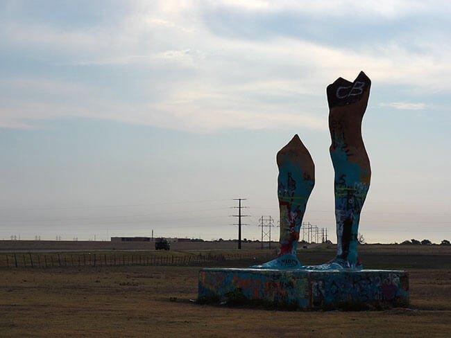 Las famosas Legs of Amarillo