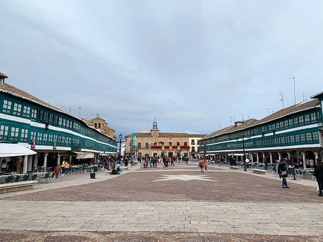 La Plaza Mayor de Almagro