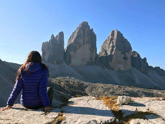 Caminata en Tre Cime di Lavadero (Italia)