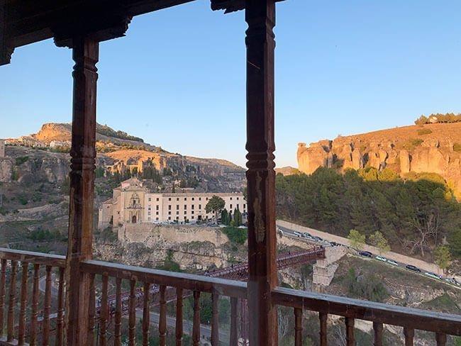 Vistas desde un de los balcones de las casas colgadas