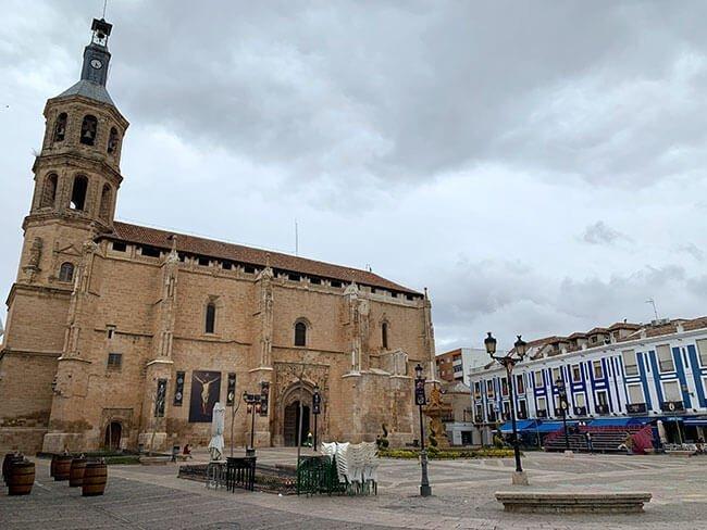 La iglesia de Nuestra Señora de la Asunción de Valdepeñas
