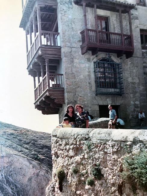 Foto antigua de Cuenca