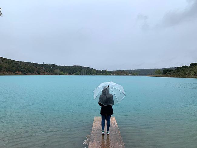 Las preciosas aguas turquesas de las Lagunas de Ruidera