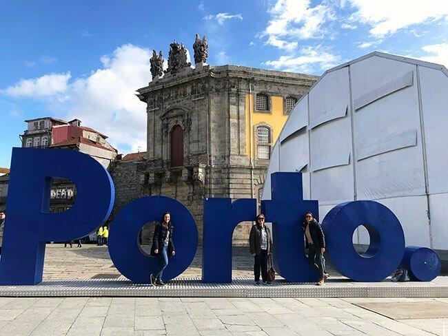 Las famosas letras de la ciudad de Oporto