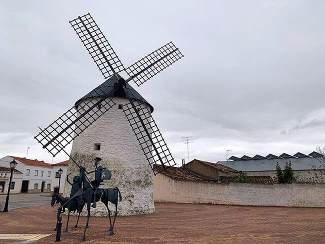 La Molineta, el molino de viento de Munera