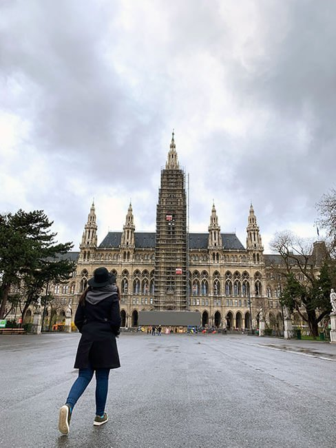 El Ayuntamiento de Viena o Rathaus