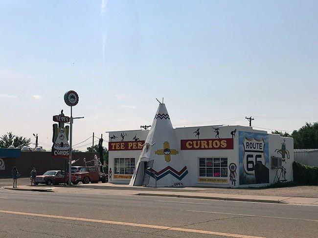 Tucumcari está repleta de puntos míticos relacionado con la Ruta 66 y Nuevo México
