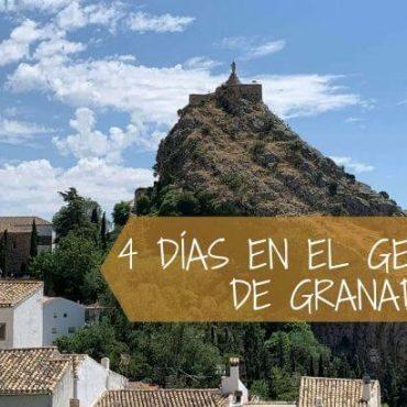 Ruta de 4 días por el Geoparque de Granada