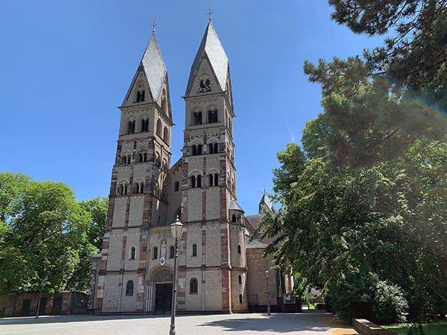 La Basílica de San Castor en Koblenz, Alemania